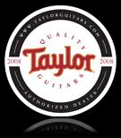 Taylor Guitars authorized dealer logo